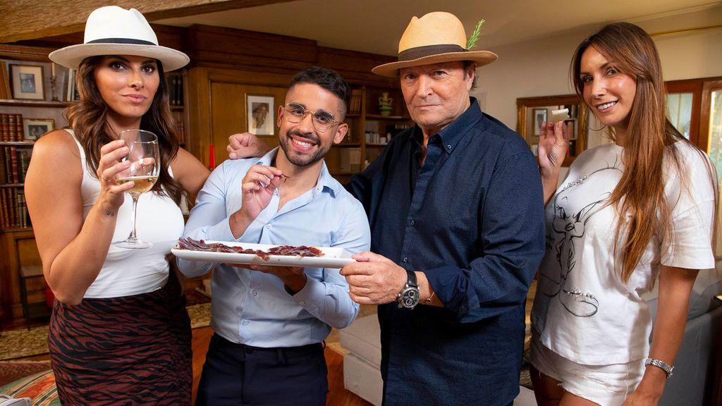 Miguel Frigenti, Irene Rosales, Amador Mohedano y Fani Carbajo, protagonistas Ven a cenar conmigo Gourmet Edition Temporada 5 Programa 52