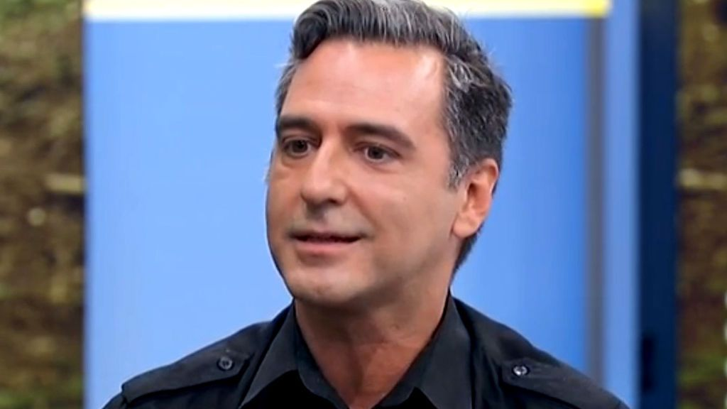 Javi Martín, durante la entrevista