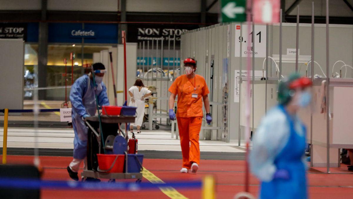 Un estudio revela que el personal de limpieza es el más afectado por el coronavirus en los hospitales
