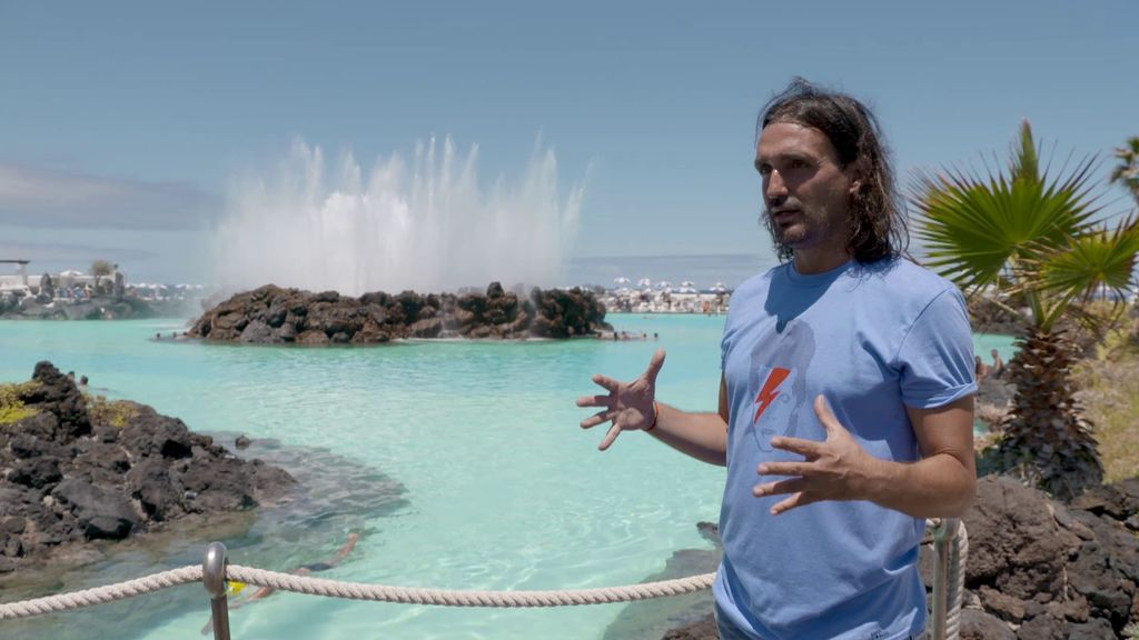 Rafa Méndez y las piscinas naturales de Tenerife