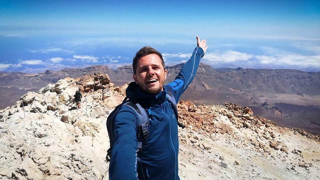 Ascendemos hasta la cima del Teide