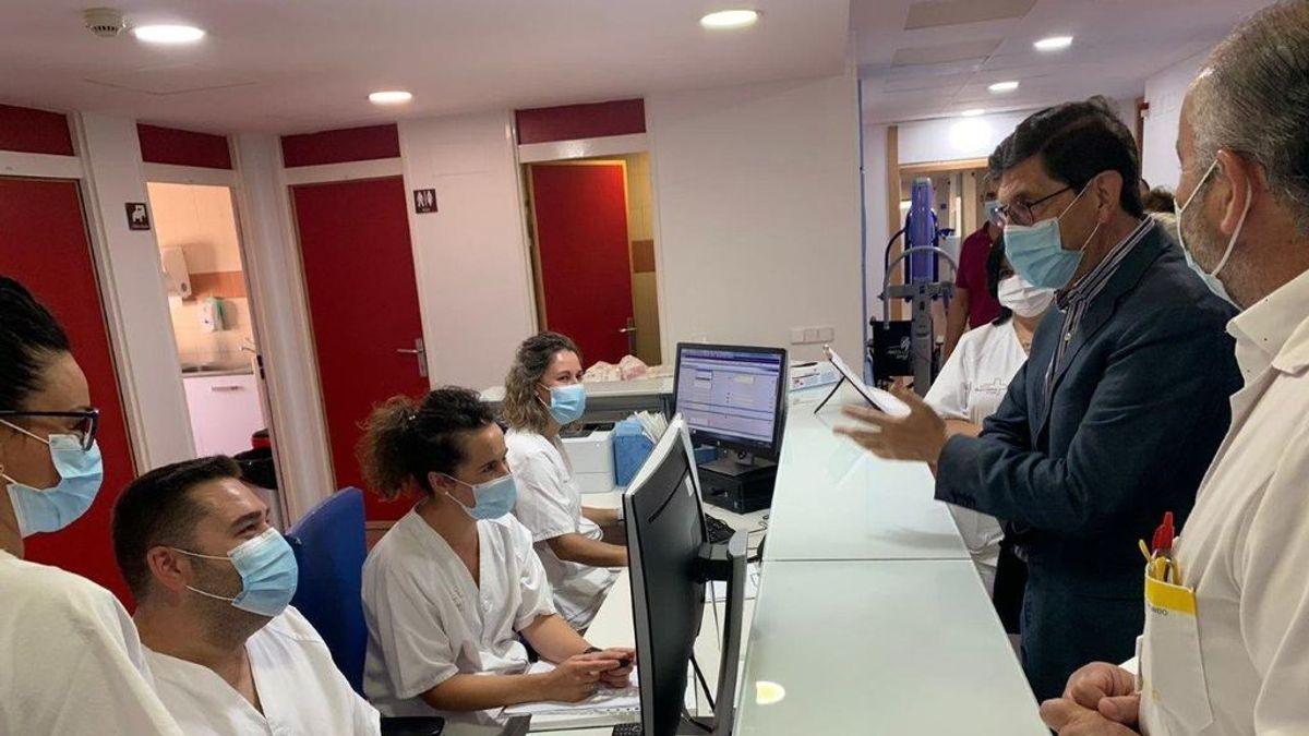 Las UCI de Murcia ya tienen más ingresados que en el pico de la pandemia