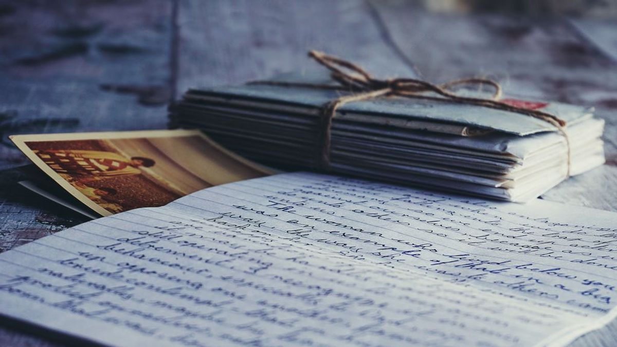 Nostalgia de cartas en septiembre. Cuando escribir nos ayudaba a retomar la rutina