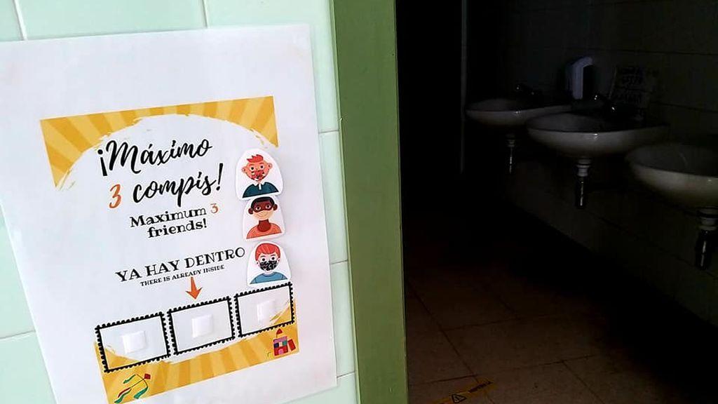 La solución 'low cost' de un colegio de Cádiz contra el Covid