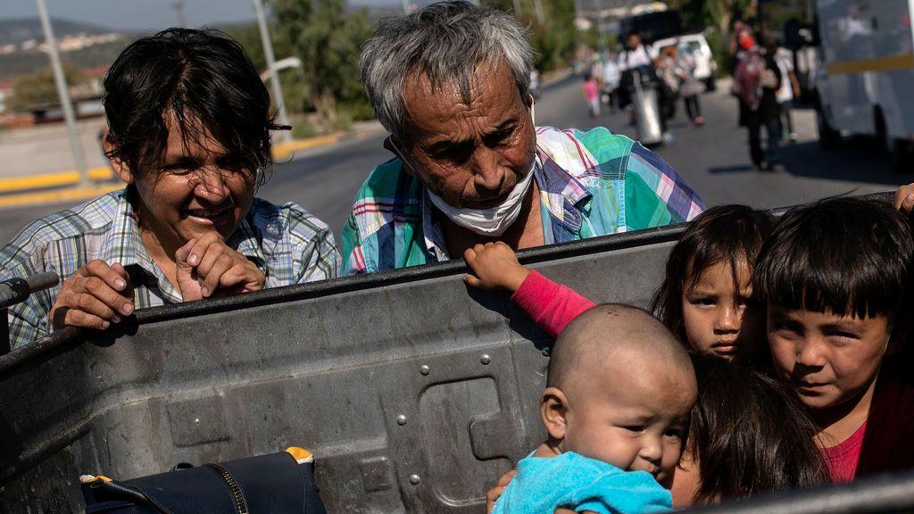 Incendio en el mayor campo de refugiados de Europa: ¿cuál es ahora el destino de los migrantes de Moria?