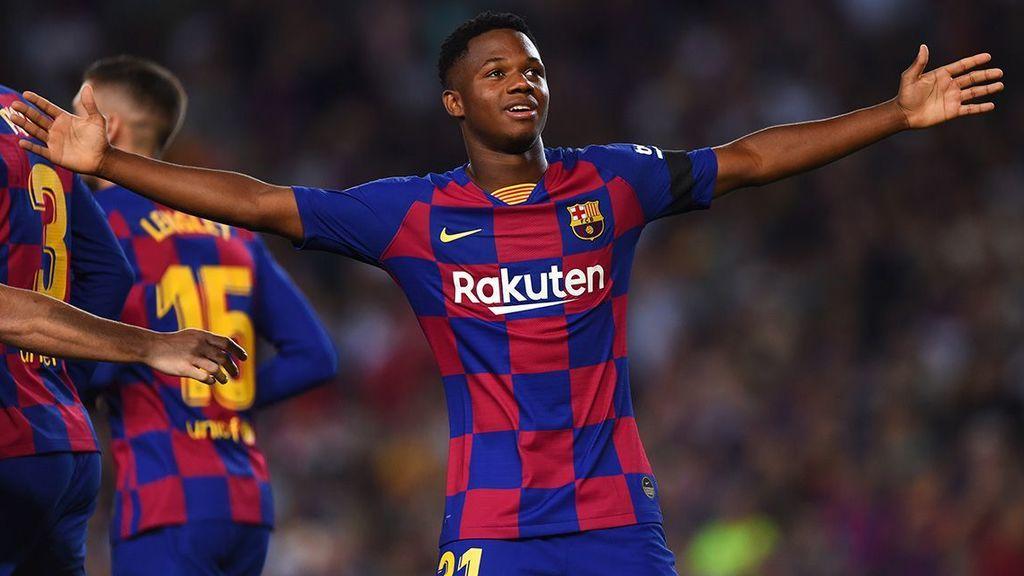 La promesa de Koeman a Ansu Fati: será su delantero centro titular en el Barça