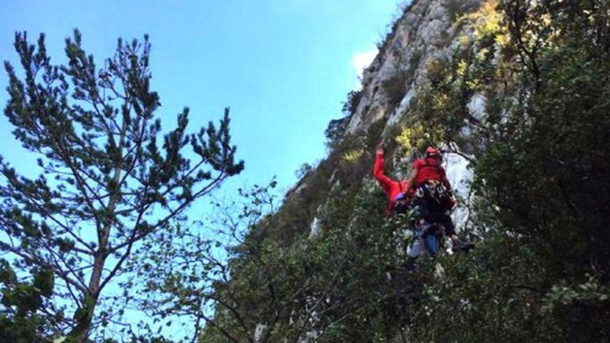 Muere un escalador en una sierra de la Nou de Berguedà (Barcelona) al golpearle una piedra