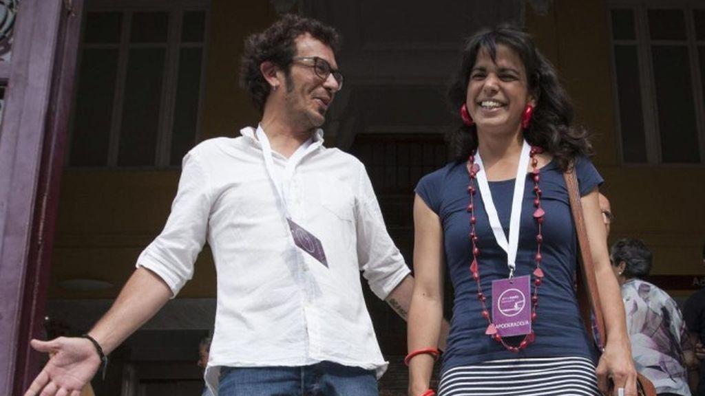 Nace Candela, la segunda hija de 'Kichi' y Teresa Rodríguez,  la coordinadora de Adelante Andalucía