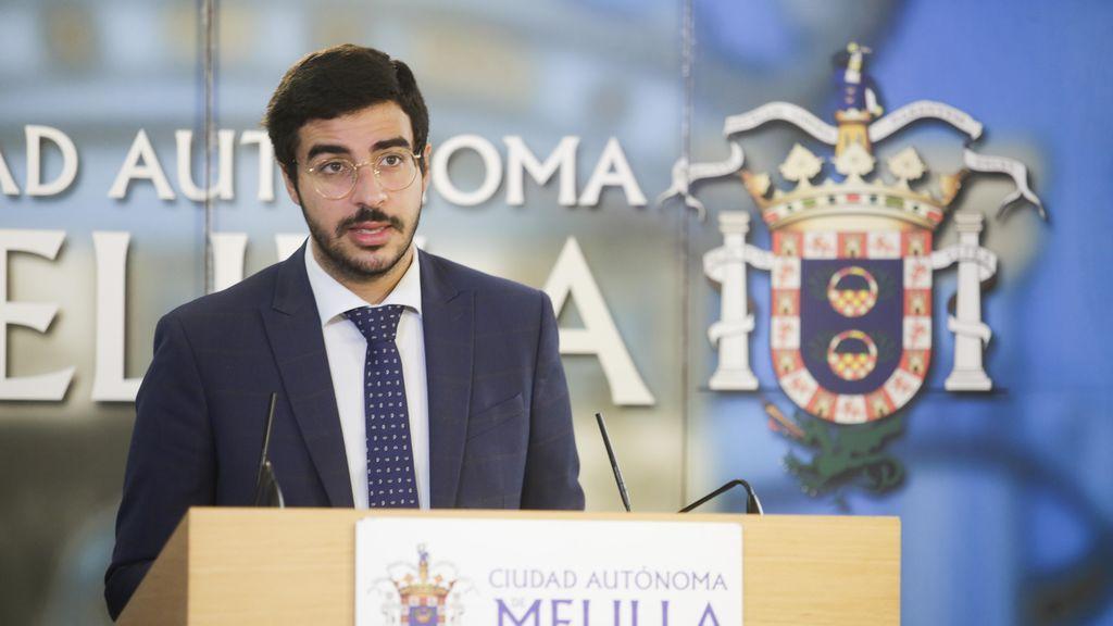 El consejero de Salud Pública, Mohamed Mohand (PSOE)