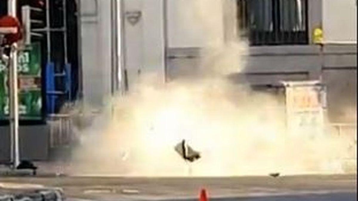 Explotan la mochila de un hombre que fingía llevar explosivos en el Metro de Madrid