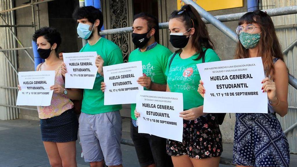 El Sindicato de Estudiantes ha anunciado este miércoles que convocará una huelga estudiantil