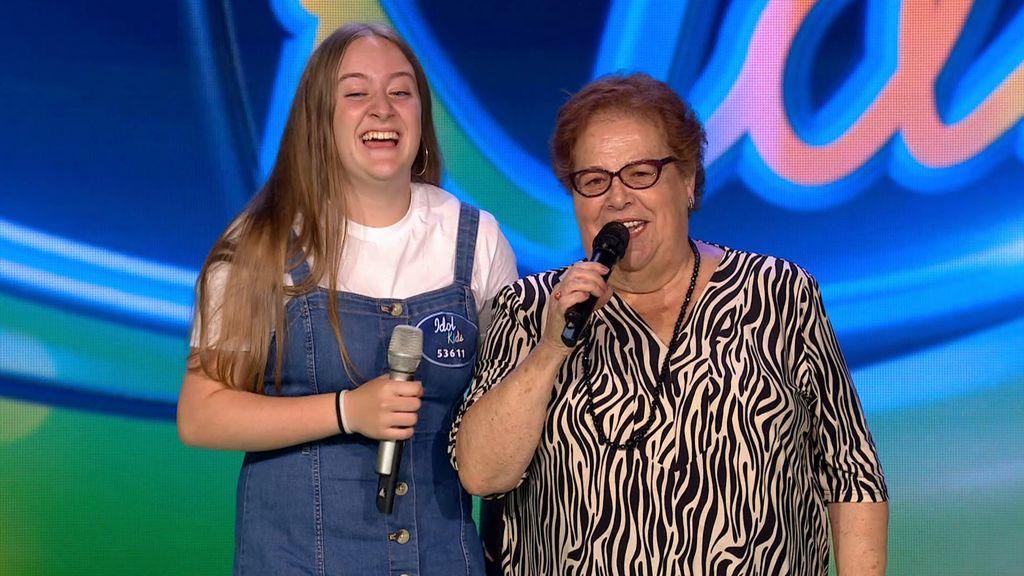 La actuación de Alexandra en Idol Kids