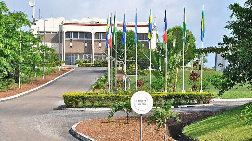 Laboratorio BSL-4 de Gabón, África.