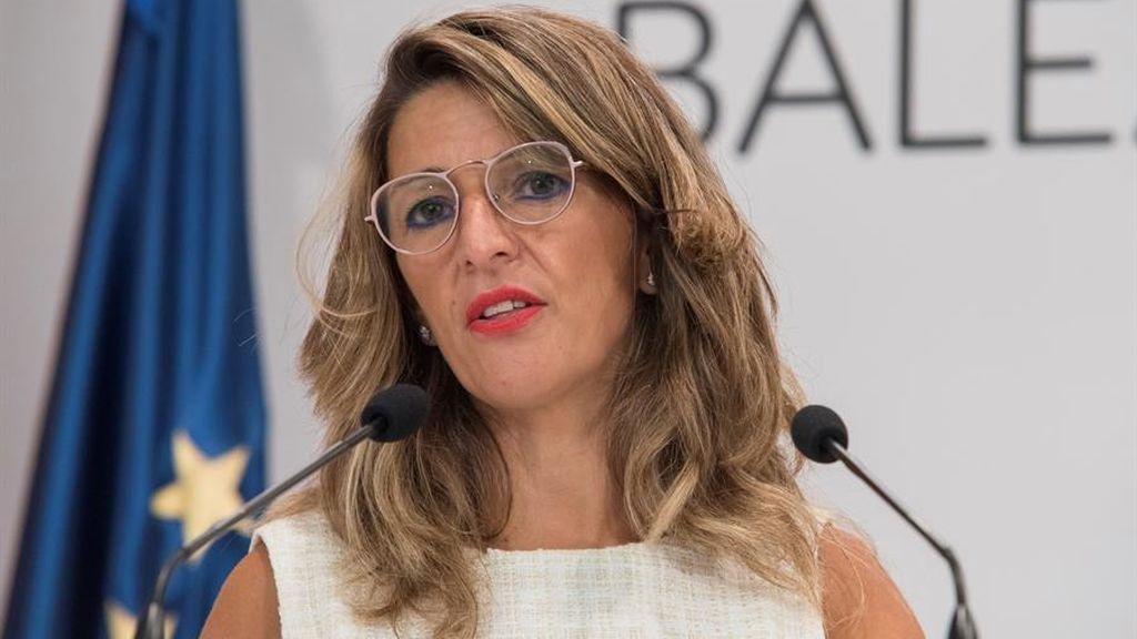 Díaz abre la puerta a que los ERTE sigan en 2021 con la cuantía actual de la prestación