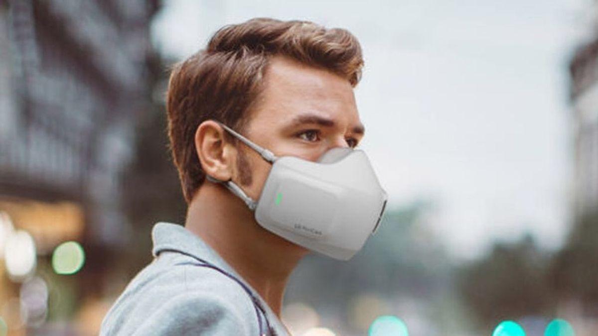 Llega la mascarilla que filtra como los aparatos de aire acondicionado