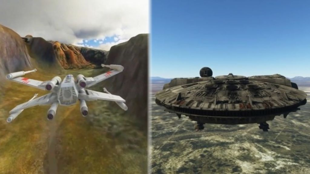 Microsoft Flight Simulator - Star Wars mod