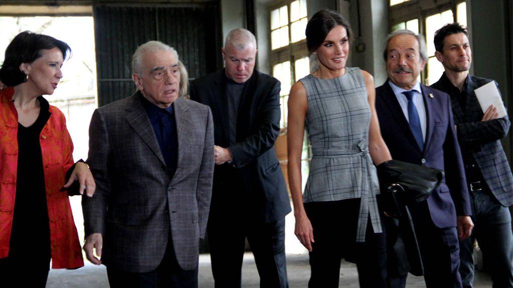 Letizia, en el homenaje a Martin Scorsese en Oviedo (2018)