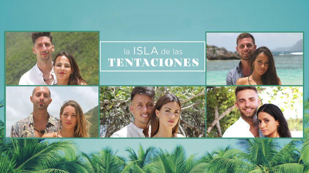 Así son las cinco parejas protagonistas de 'La isla de las tentaciones 2'