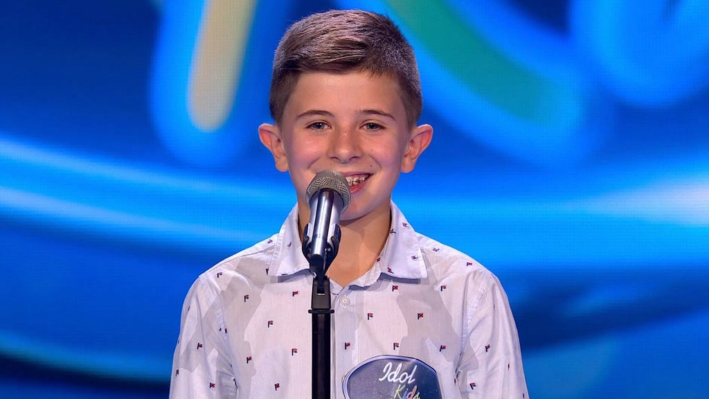 La actuación de Rubén en Idol Kids