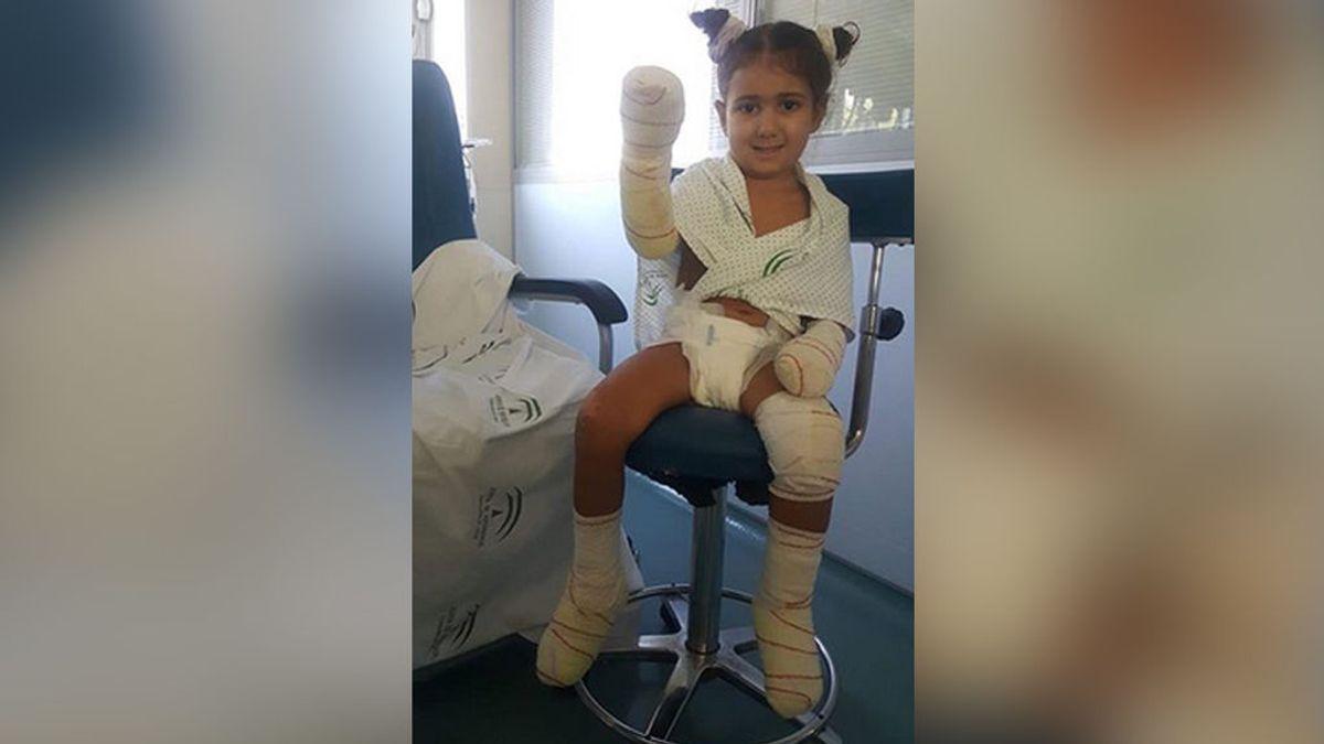 Dani Rovira se suma a la petición de ayuda para evitar que la pequeña Carlota pierda sus extremidades