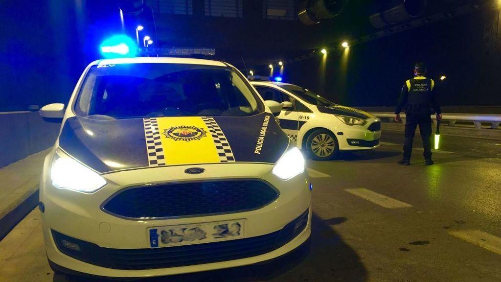 Detenido el conductor de un coche que circulaba a 127 km/h en pleno centro de Valencia