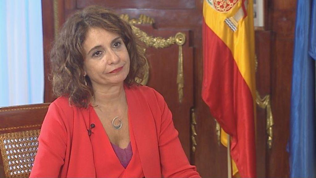 Entrevista completa a María Jesús Montero