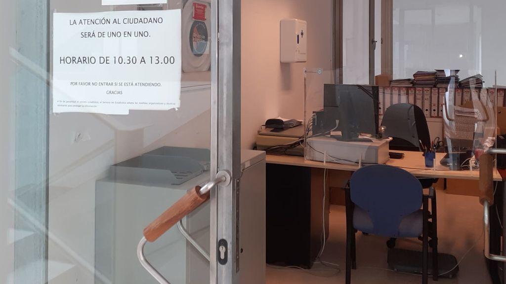 La oficina censal del ayuntamiendo del Puerto de Santa María