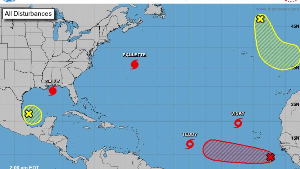 Un ciclón extratropical se acerca al noroeste de España