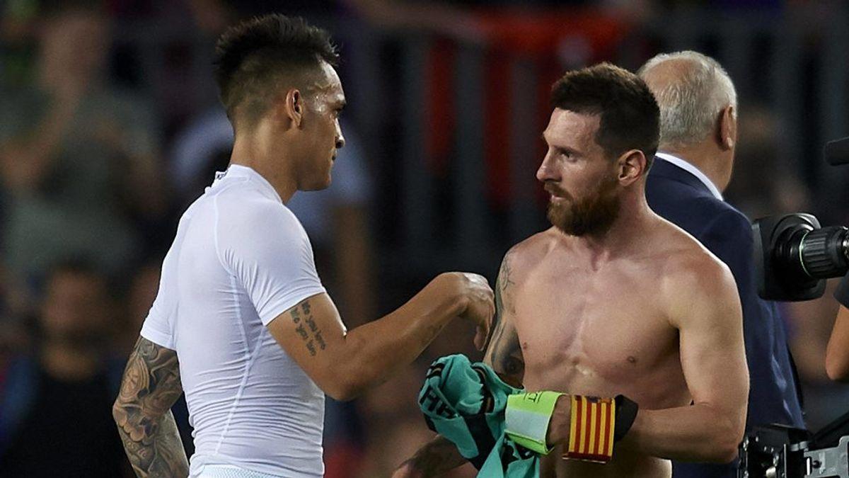 Messi tiene la llave para que el Barça cierre a Lautaro Martínez: el club necesita rebajar las fichas de la plantilla