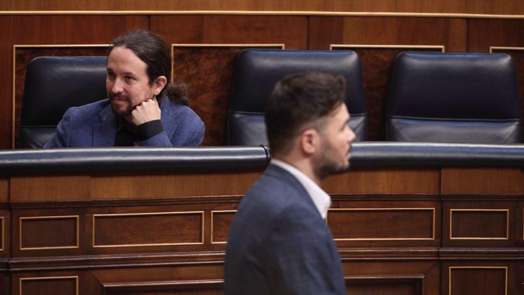 Iglesias y Rufián se reunirán este miércoles para negociar los Presupuestos