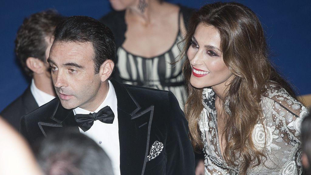 Paloma Cuevas y Enrique Ponce, en un evento en 2015