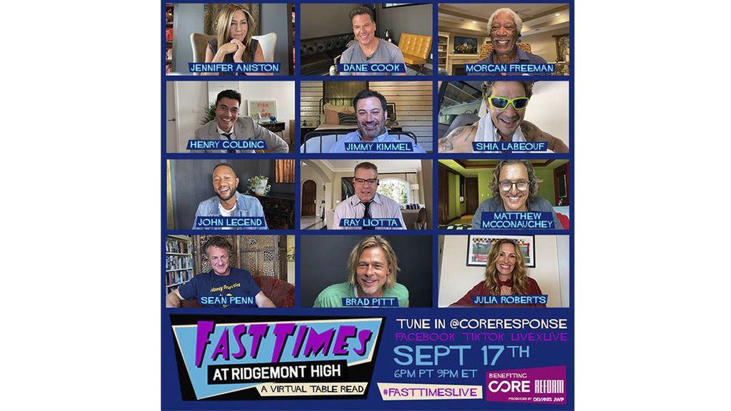 Cartel promocional de 'Fast times at Ridgemont High'