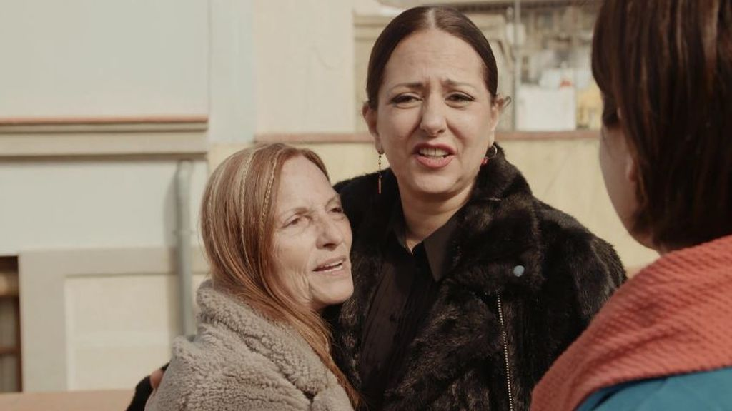 Yolanda Ramos y su madre