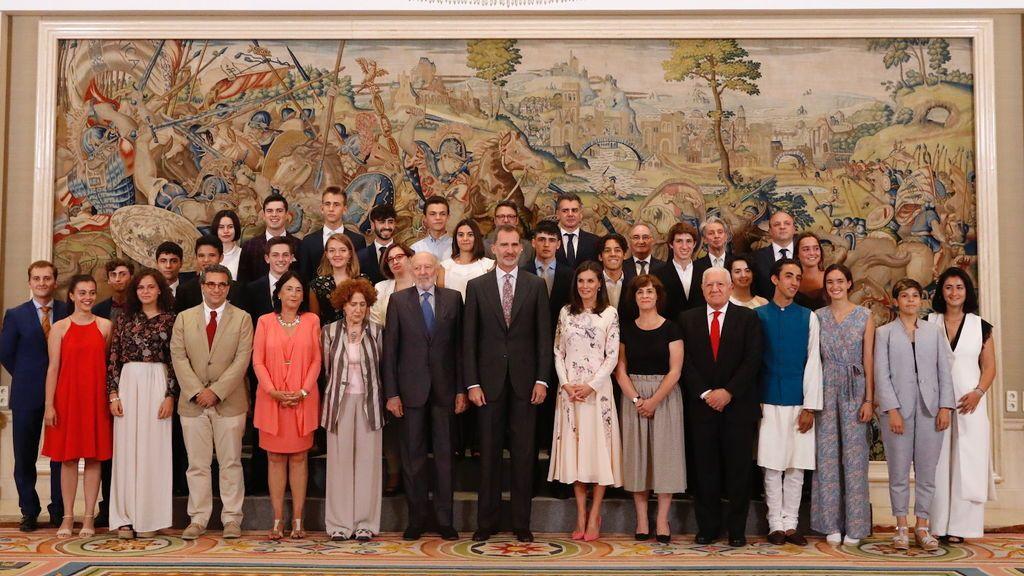 Los reyes reciben al Patronato de la Fundación Comité Español de los Colegios del Mundo Unido