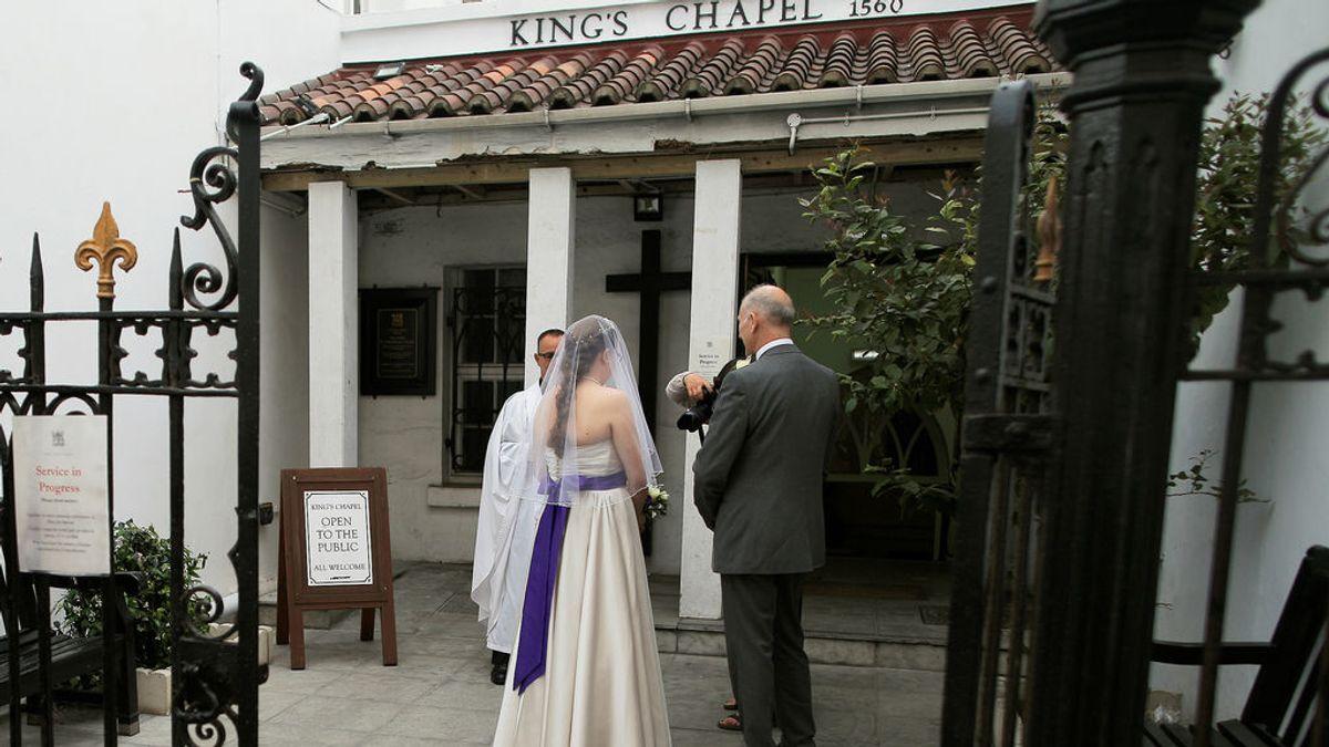 Gibraltar, el mejor lugar para casarse en Europa durante la pandemia de covid19