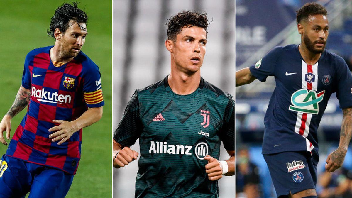 Messi sigue siendo el rey entre los futbolistas mejor pagados del planeta con 126 millones de euros al año