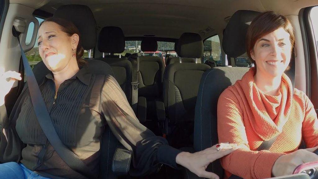 """El emotivo momento de Yolanda Ramos y Samanta Villar en el coche: """"Serrat me hace llorar"""""""