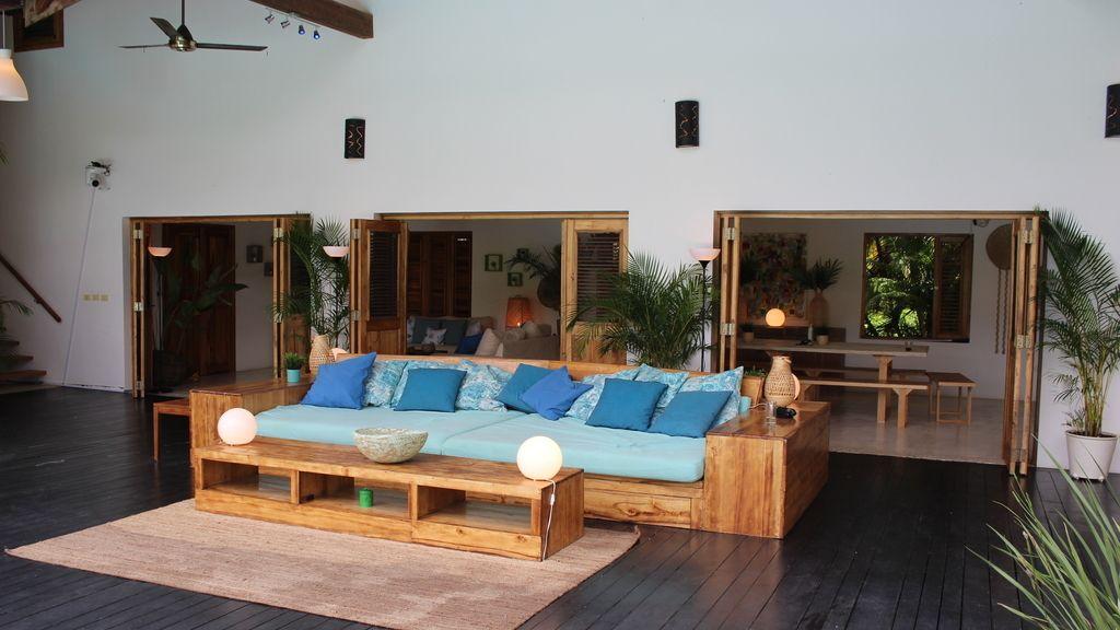 Así es Villa Montaña: El espectacular alojamiento de los chicos