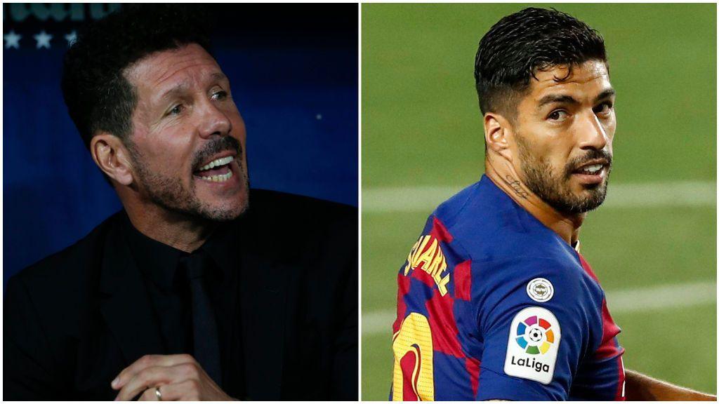 Simeone y Luis Suárez hablaron por teléfono.
