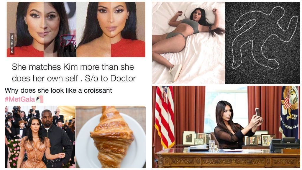 Los mejores memes de Kim Kardashian.