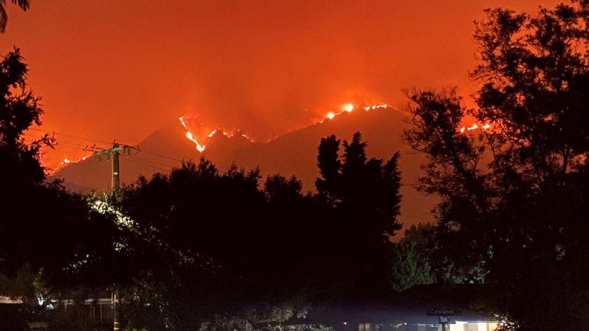 El humo de los incendios de Estados Unidos llega a Europa