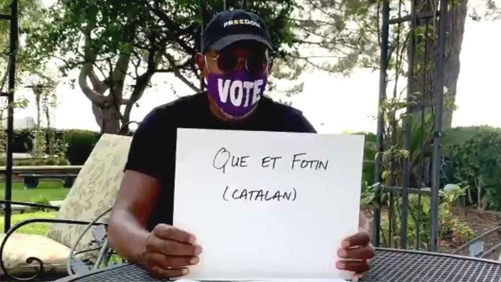 """Samuel L. Jackson manda """"a tomar por culo"""" a Donald Trump en vasco y catalán"""