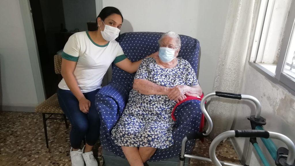 La superabuela de Murcia pasa el coronavirus sin enterarse a los 96 años