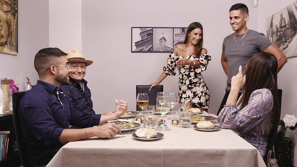 Amador y Fani, los anfitriones Ven a cenar conmigo Gourmet Edition Temporada 5 Programa 53