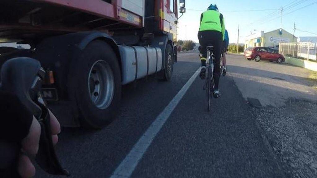Las imprudencias de los conductores grabadas por los ciclistas