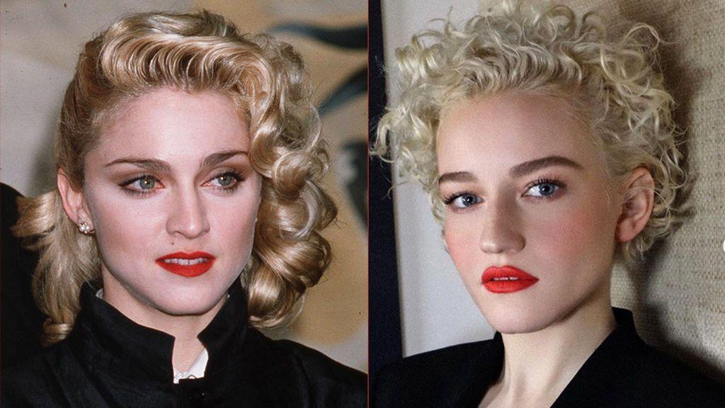 Madonna (2001) y Julia Garner (2019)