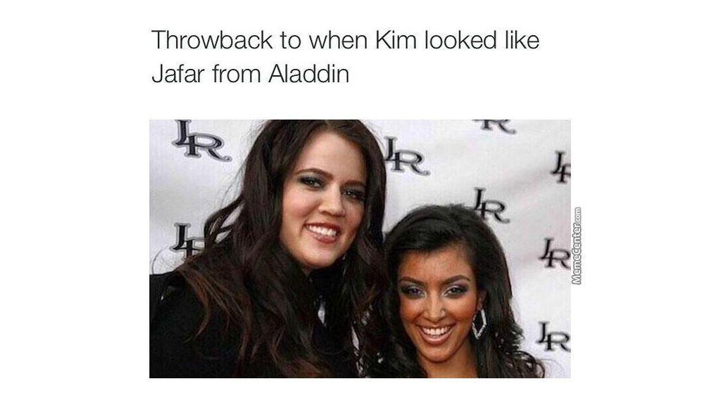 Kim Kardashian y su excesos con los rayos UVA.