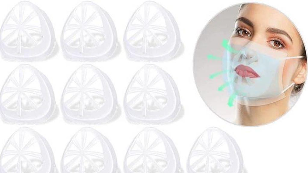 El nuevo molde de silicona que permite respirar y hablar mejor con la mascarilla puesta
