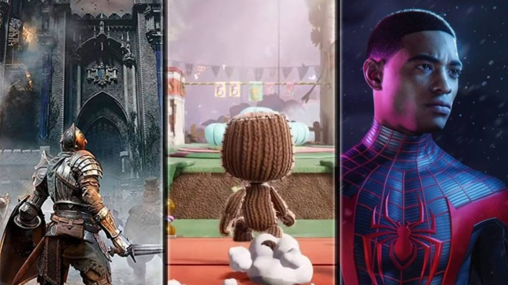Demon's Souls, Sackboy A Big Adventure y Marvel's Spider-Man: Miles Morales