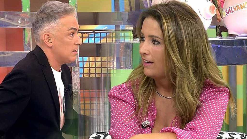 """El reproche de Kiko Hernández a Laura Fa: """"Anda que tú también, no digas chorradas"""""""